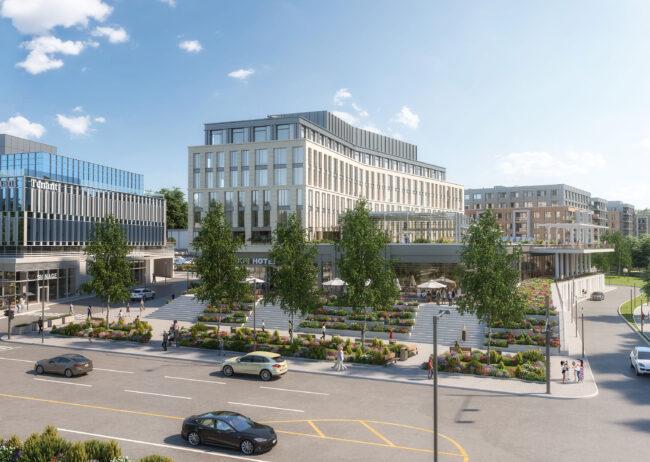 Brookfield Properties, Macys, Manhasset, Rendering