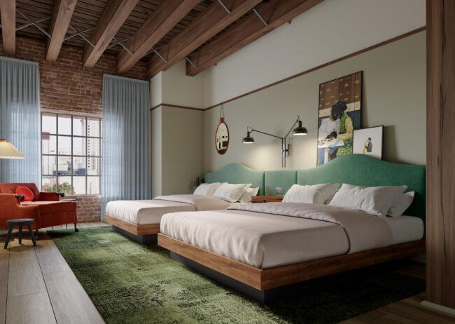 Hospitality Rendering Marriott created by Radical Galaxy Studio