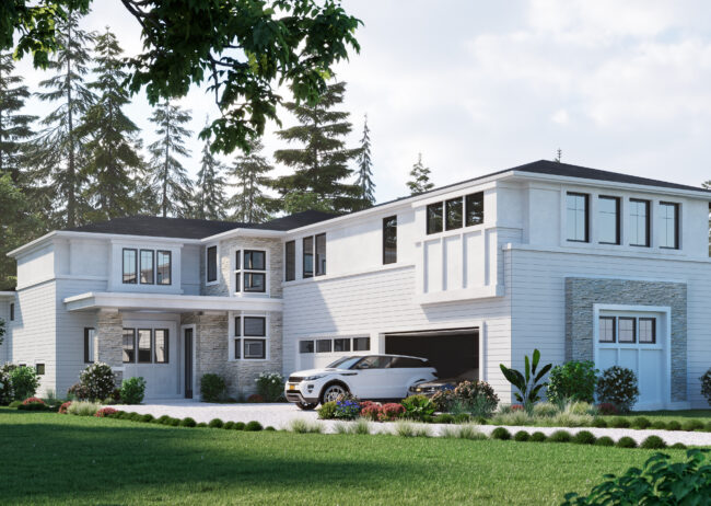 Single Family Rendering in Kirkland Washington