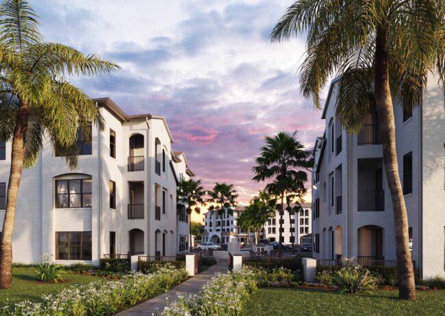 Courtyard Multifamily Visualization Firm in Orlando, Florida
