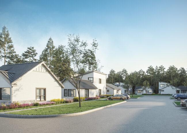 Houston Rendering Leva Living Development